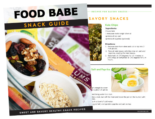 The Food Babe Snack Smarter Guide Cover
