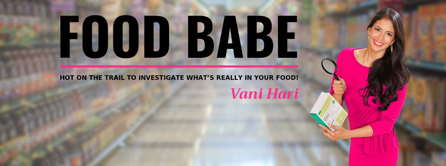 Food Babe Blog Header