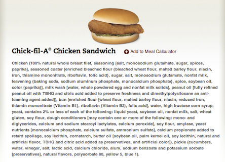 chick-fil-a food babe