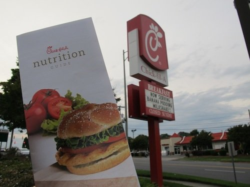 chick-fil-a nutrition guide - food babe