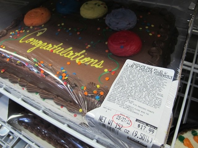 Why You Shouldnt Buy Supermarket Birthday Cakes