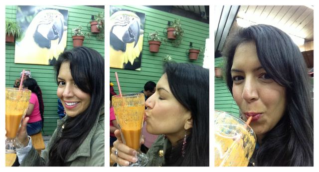 Juice in Cusco