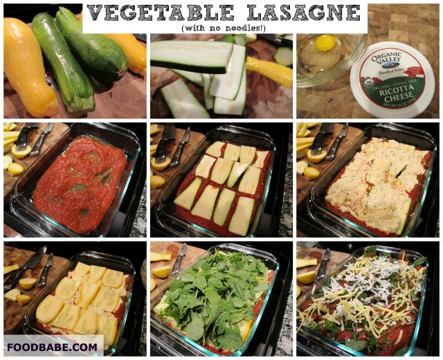 Vegetable Lasagne