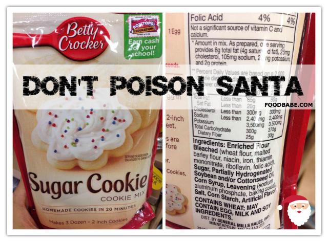Don't Poison Santa
