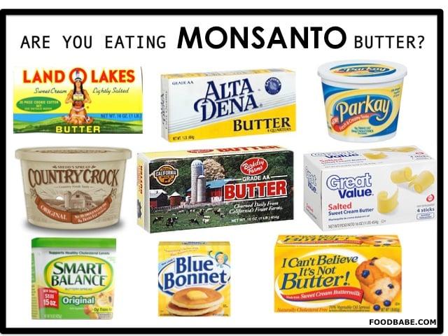 MonsantoButter