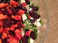 How To Get Someone To Eat Their Greens: Roasted Beet & Carrot Salad