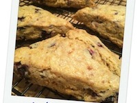What Do You Do When A Recipe Calls For Crisco? Blueberry Lemon Scones