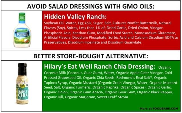 Salad Dressing Ingredients