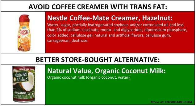 CoffeMate Ingredients