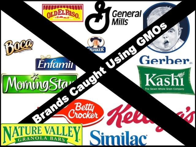 Brands Guilty of GMOs