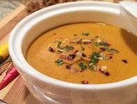 Healthy Thai Spiced Pumpkin Soup