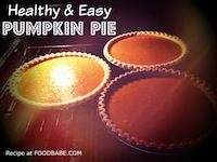 Healthy Pumpkin Pie With Coconut Whipped Cream