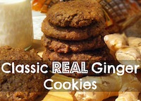 Classic Real Ginger Cookies!