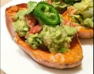 Super Healthy & Delicious Appetizer: Sweet Potato Skins