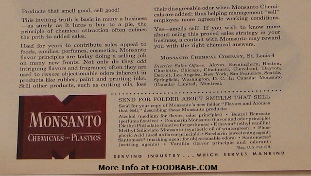 Monsanto Smell 1