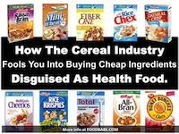 Beware Of This Head Fake: Healthy Cereal That Isn't.