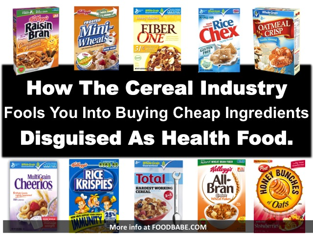 Millions of dollars are spent on advertising cereal every year, and while most of it aggressively targets children, they heavily advertise to adults as well ...