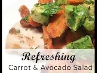Avocado & Carrot Salad {So Easy To Make!}