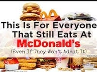 This Is For Everyone That Still Eats at McDonald's (Even if they won't admit it!)