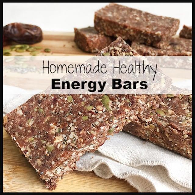 Healthy Energy Bars