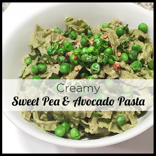 Sweet Pea Avocado Pasta_4-2
