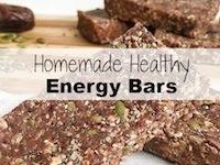 Homemade Healthy Energy Bars