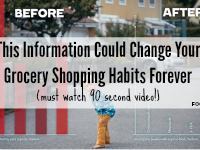 This Information Could Change Your Grocery Shopping Habits Forever (Must Watch 90 second Video!)