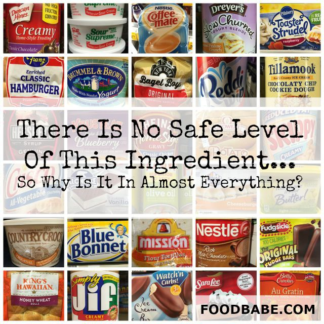 There is No Safe Level Of This Ingredient
