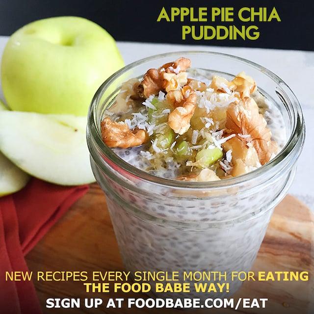 Apple Pie Chia Pudding