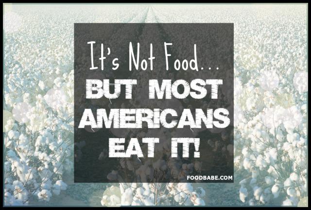 IT'S NOT FOOD
