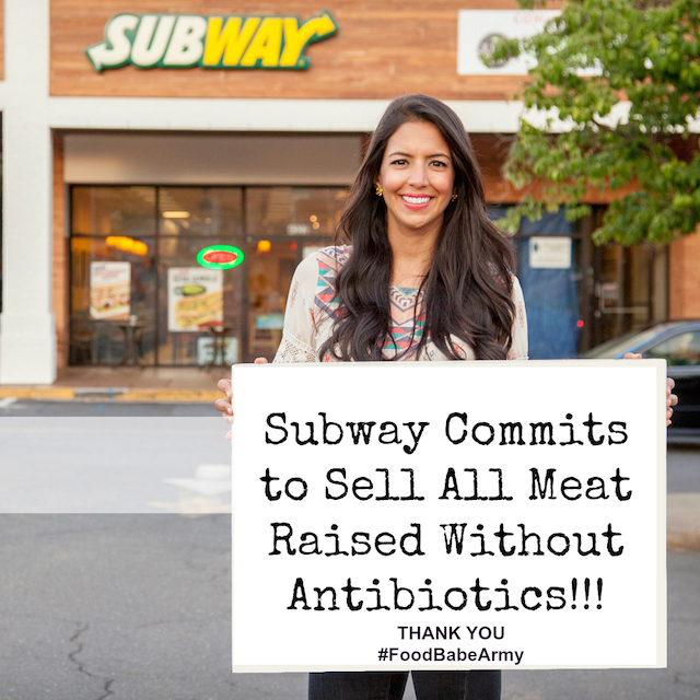 Subway Commits To Sell All Meat Raised Without Antibiotics