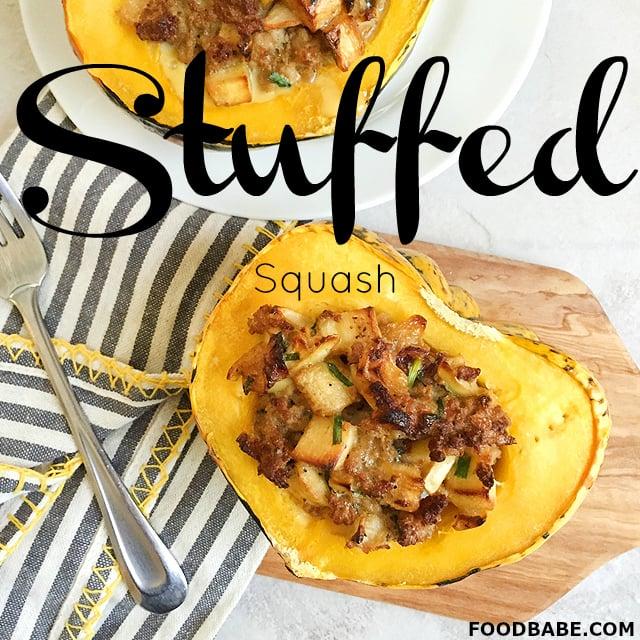 Stuffed Squash Food Babe
