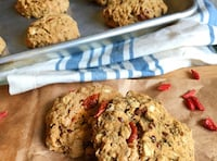 Goji Berry Cookies