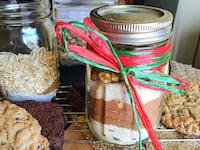 Brownies or Cookies In-A-Jar – A Delicious Holiday Treat