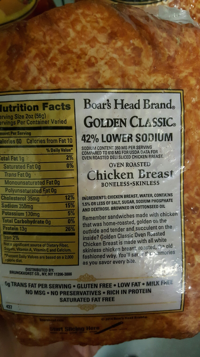 What's In Boar's Head Meat? (See the