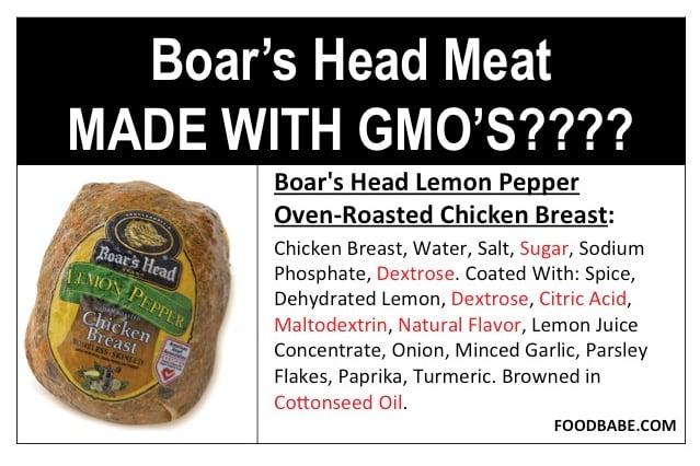 Boars head GMO