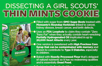 Dissecting Thin Mints Girl Scout Cookies {It Isn't Pretty!}