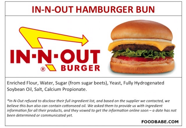 IN-N-OUT BUNS