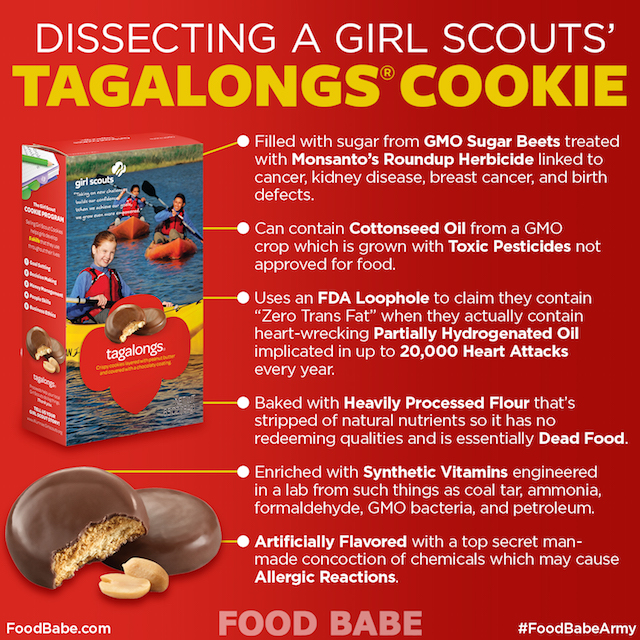 Tagalong Cookie