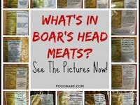 What's In Boar's Head Meat? (See the revealing pictures now!)