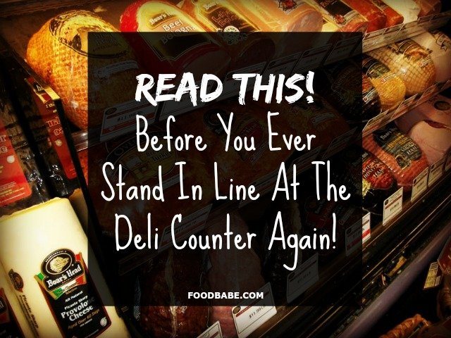 Read This Before You Ever Stand In Line At The Deli Counter