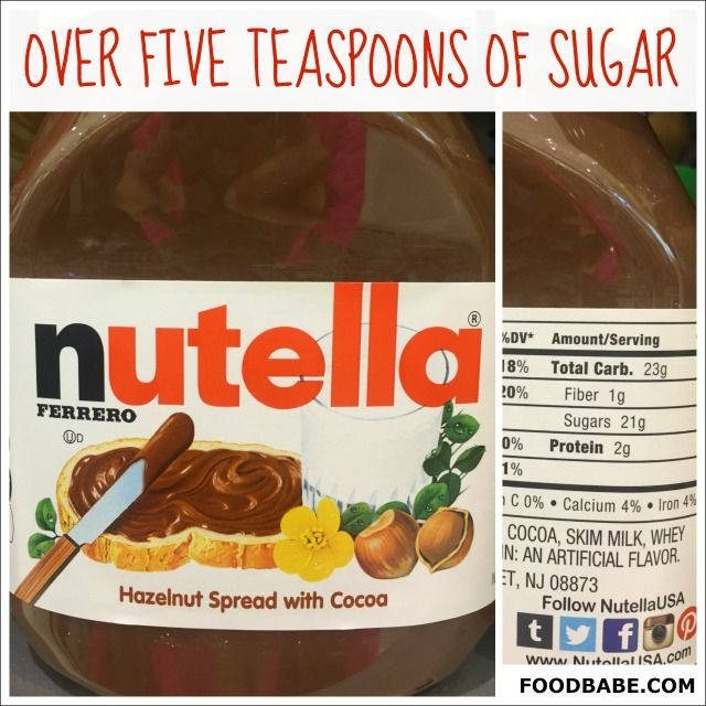 NUTELLA SUGAR