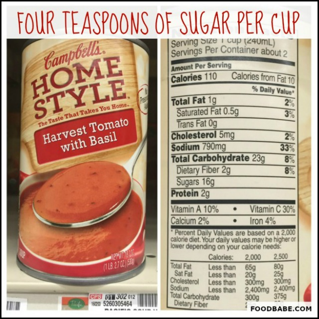 SUGAR CAMPBELL'S SOUP