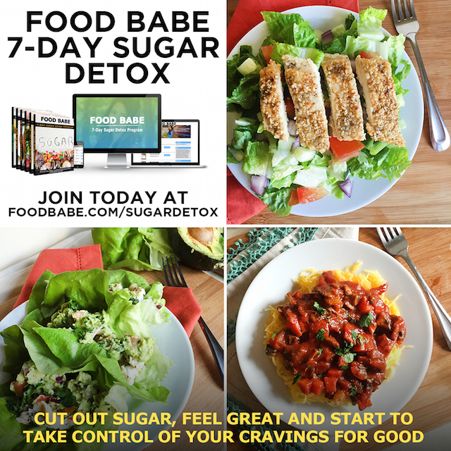 Sugar Detox Food Pics