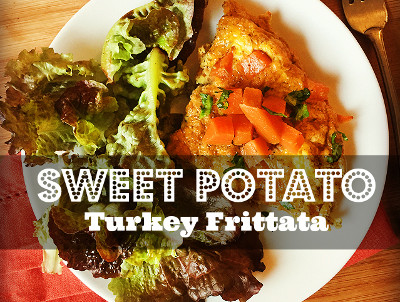 Sweet Potato & Turkey Frittata