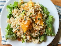 Asian Citrus Rice Salad
