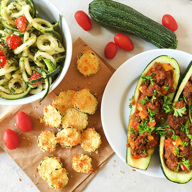 Three Zucchini Recipes