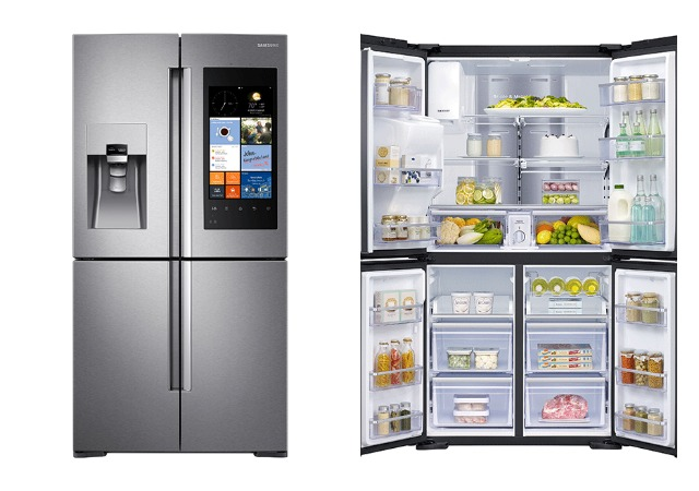 Samsung Family Hub Review >> Look What S On My New Refrigerator Samsung Family Hub Review