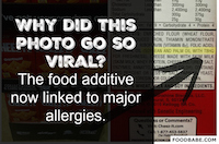 Why did this photo go so viral? The food additive now linked to major allergies.