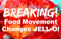 Kraft Jello Drops GMO Sugar, Artificial Food Dyes & BHA